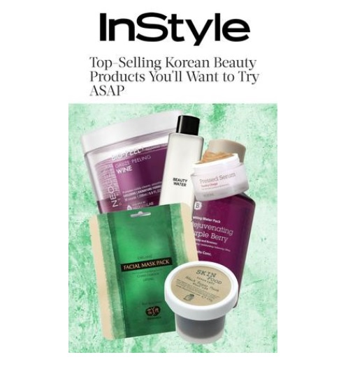 InStyle Whamisa media sheet mask koreansk hudpleie
