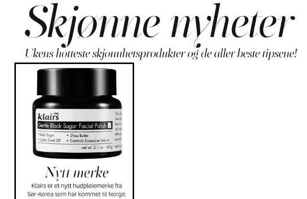 KK Klairs peeling naturlig hudpleie koreansk kosmetikk