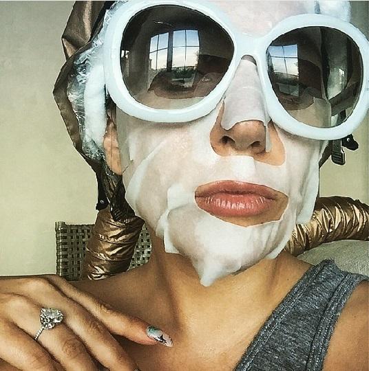 Lady Gaga sheet mask