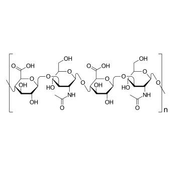 hyaluronsyre struktur - molekylstruktur for hyaluronsyre