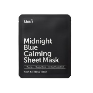 Klairs sheet-maske midnight blue calming